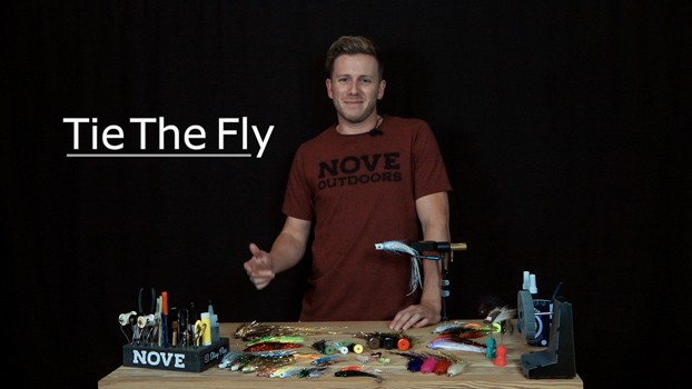 Presentación Tie The Fly - Nove Outdoors