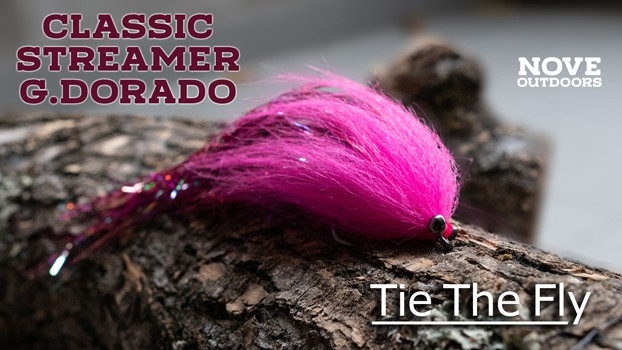 Tie The Fly - Streamer Dorado - Nove Outdoors