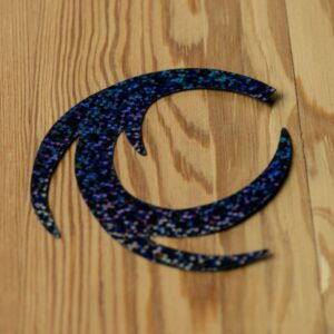 Dragon Tails Holographic Black XL - Pacchiarini