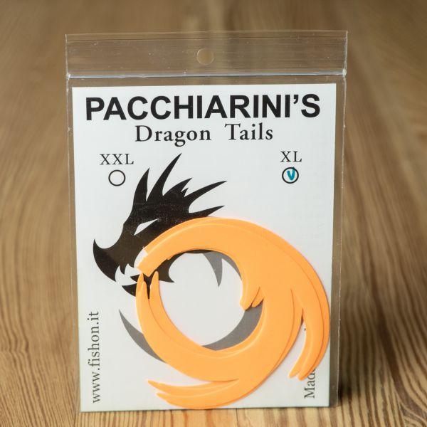 Dragon Tails Orange Fluo XL - Pacchiarini - 2