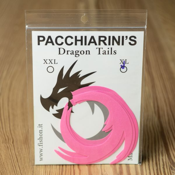 Dragon Tails Pink Fluo XL - Pacchiarini - 2
