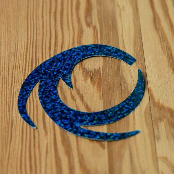 Dragon Tails Holographic Blue Herring XL - Pacchiarini