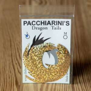 Dragon Tail Holographic Gold L - Pacchiarini - 2