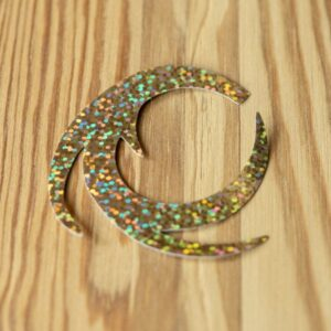 Dragon Tail Holographic Gold L - Pacchiarini
