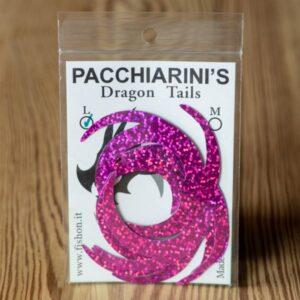 Dragon Tail Holographic Fucsia L - Pacchiarini - 2