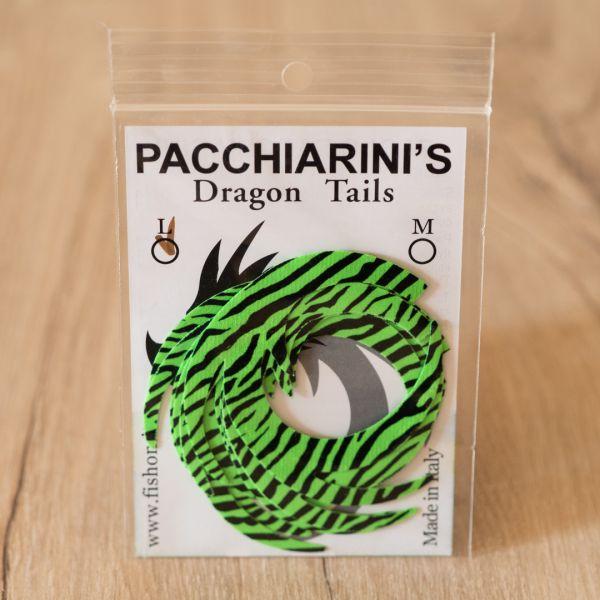 Dragon Tail Chartreuse Fluo Barred L - Pacchiarini - 2