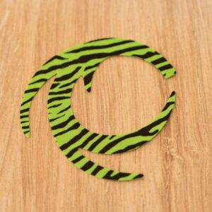 Dragon Tail Chartreuse Fluo Barred L - Pacchiarini