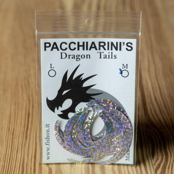 Dragon Tail Holographic Silver M - Pacchiarini - 2