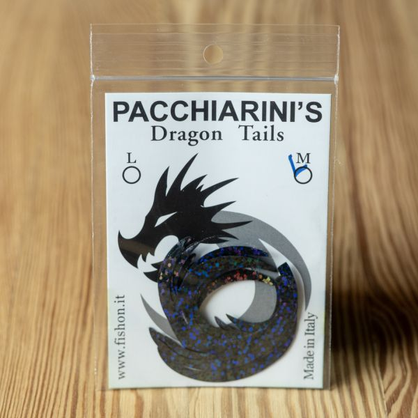 Dragon Tail Holographic Black M - Pacchiarini - 2
