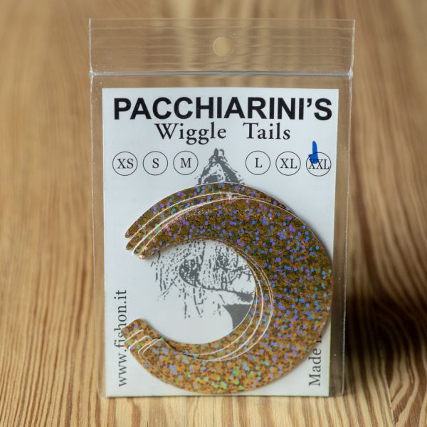 Wiggle Tails Holographic Gold XXL - Pacchiarini - 2
