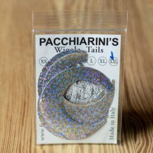 Wiggle Tails Holographic Silver XXL - Pacchiarini - 2