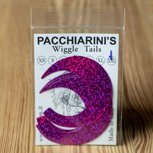 Wiggle Tails Holographic Fucsia XXL - Pacchiarini - 2
