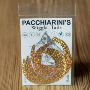 Wiggle Tails Holographic Gold XL - Pacchiarini - 2