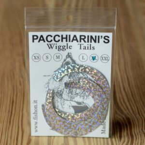 Wiggle Tails Holographic Silver XL - Pacchiarini - 2