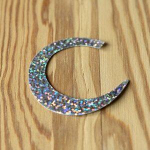 Wiggle Tails Holographic Silver XL - Pacchiarini
