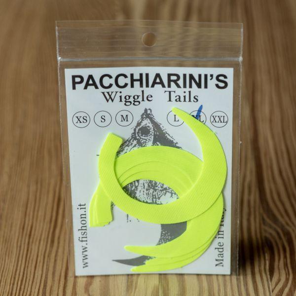 Wiggle Tails Yellow Fluo XL - Pacchiarini - 2