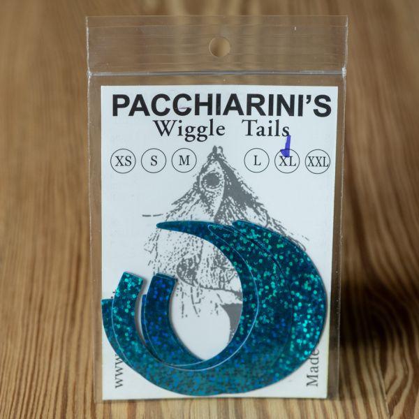 Wiggle Tails Holo Blue Herring XL - Pacchiarini - 2