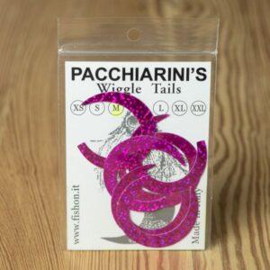 Wiggle Tails Holographic Fucsia M - Pacchiarini - 2