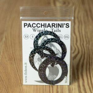Wiggle Tails Holographic Black M - Pacchiarini - 2