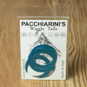 Wiggle Tails Holographic Blue Herring M - Pacchiarini - 2