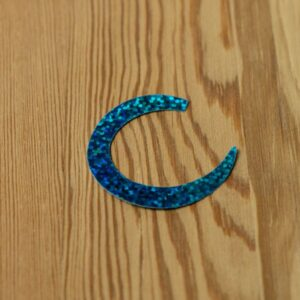 Wiggle Tails Holographic Blue Herring M - Pacchiarini