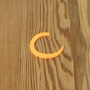 Wiggle Tails Orange Fluo S - Pacchiarini