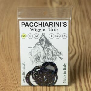 Wiggle Tails Holographic Black XS - Pacchiarini - 2