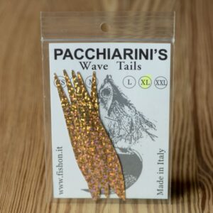 Wave Tails Holographic Gold XL - Pacchiarini - 2