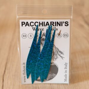 Wave Tails Holographic Blue Herring XL - Pacchiarini - 2