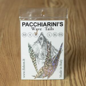 Wave Tails Holographic Silver M - Pacchiarini - 2