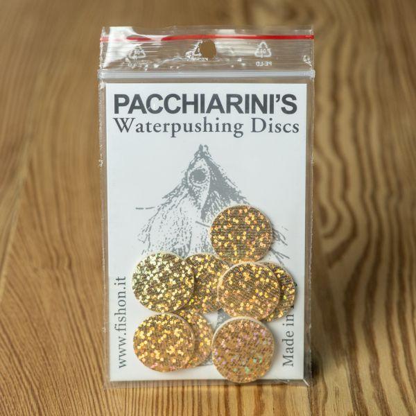 Waterpushing Disc Holographic Gold - Pacchiarini - 2