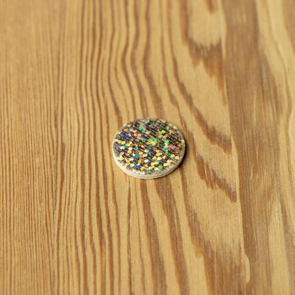 Waterpushing Disc Holographic Gold - Pacchiarini