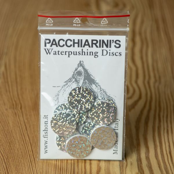 Waterpushing Disc Holographic Silver - Pacchiarini - 2
