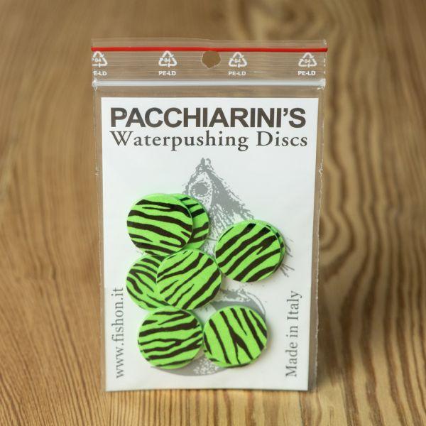 Waterpushing Disc Chartreuse Fluo Barred - Pacchiarini - 2