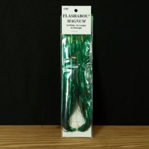 Flashabou Magnum Solid Green - Hedron - 2