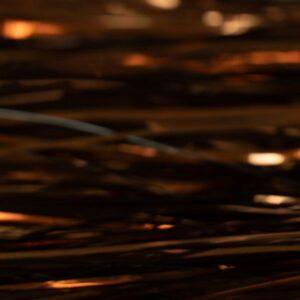 Flashabou Magnum Solid Bronze - Hedron