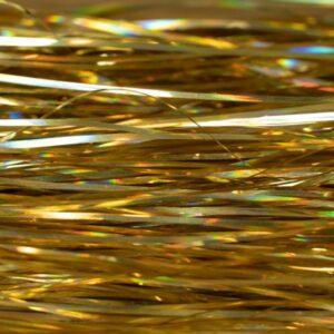 Flashabou Magnum Solid Lazer Gold - Hedron