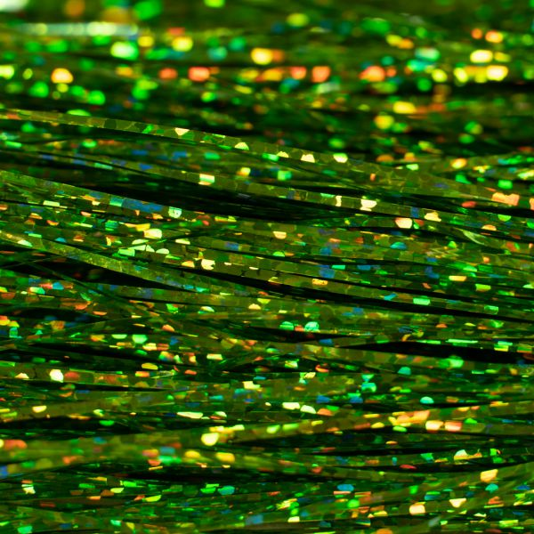Flashabou Magnum Holographic  Chartreuse - Hedron