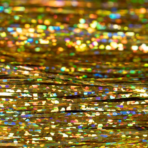 Flashabou Magnum Holographic  Gold - Hedron