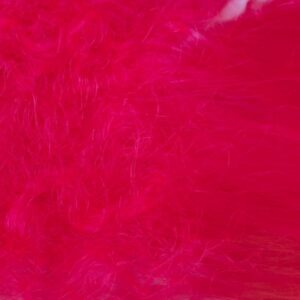Big Fly Fiber with Curl - Hot Pink - Hedron