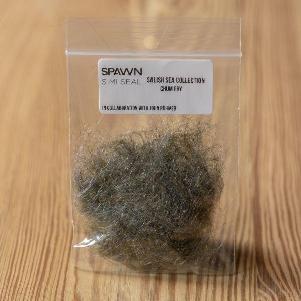 Spawn's Simi Seal Dubbing - Chum Fry - Spawn Fly Fish - 2