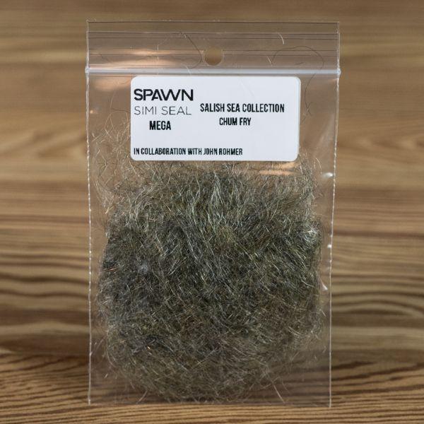 Spawn's Mega Simi Seal Dubbing - Chum Fry - Spawn Fly Fish - 2