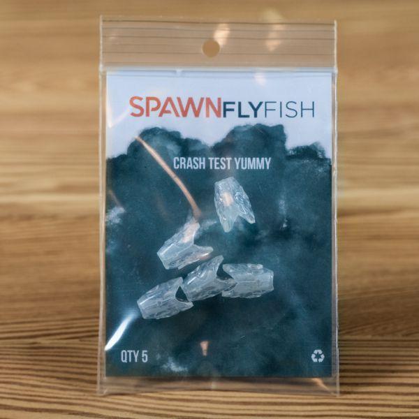 Crash Test Yummy - UV Open Mind - 5 Pack - Spawn Fly Fish - 2