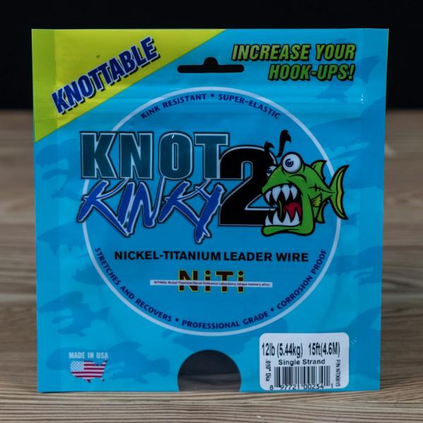 Single Strand Knot 2 Kinky 12lb 15ft - Knot 2 Kinky - 2