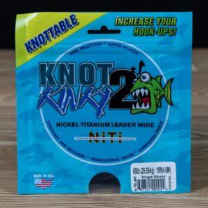 Single Strand Knot 2 Kinky 65lb 15ft - Knot 2 Kinky - 2