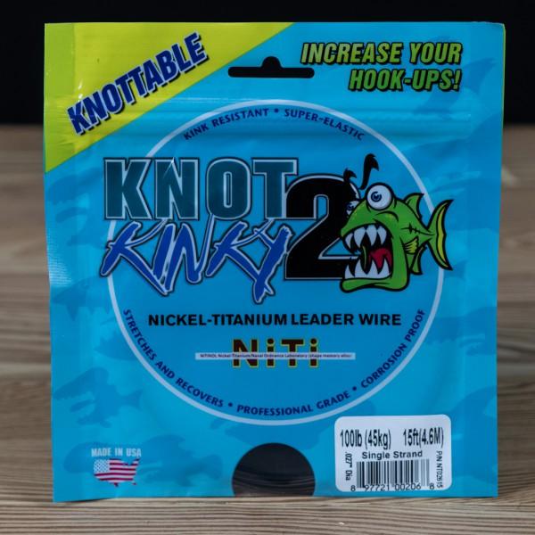 Single Strand Knot 2 Kinky 100lb 15ft - Knot 2 Kinky - 2