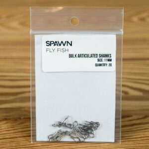 Articulated Shanks - 11 mm - 20 Pack - Spawn Fly Fish - 2