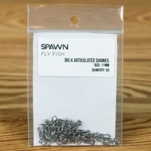 Articulated Shanks - 11 mm - 50 Pack - Spawn Fly Fish - 2