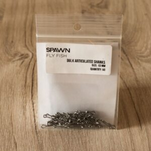 Articulated Shanks - 13 mm - 50 Pack - Spawn Fly Fish - 2