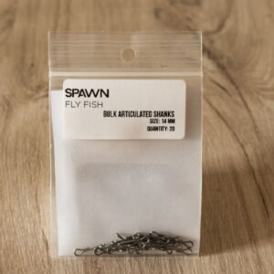 Articulated Shanks - 14 mm - 20 Pack - Spawn Fly Fish - 2